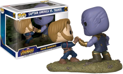 Avengers 3: Infinity War - Captain America vs Thanos Movie Moments Pop! Vinyl Figure 2-Pack