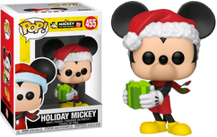Disney - Holiday Mickey 90th Anniversary Pop! Vinyl Figure