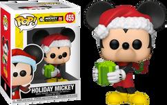 Disney - Holiday Mickey 90th Anniversary Pop! Vinyl Figure