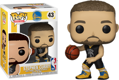 NBA Basketball - Stephen Curry Golden State Warriors Pop! Vinyl Figure