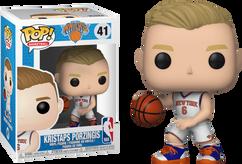 NBA Basketball - Kristaps Porzingis New York Knicks Pop! Vinyl Figure