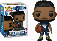 NBA Basketball - Karl-Anthony Towns Minnesota Timberwolves Pop! Vinyl Figure