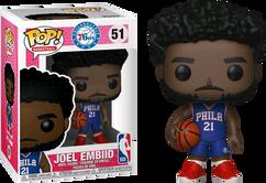 NBA Basketball - Joel Embiid Philadelphia 76ers Pop! Vinyl Figure