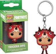 Fortnite - Tricera Ops Pocket Pop! Vinyl Keychain