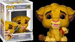 The Lion King - Simba with Grub Pop! Vinyl Figure
