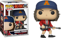 AC/DC - Angus Young with Red Jacket Pop! Vinyl Figure