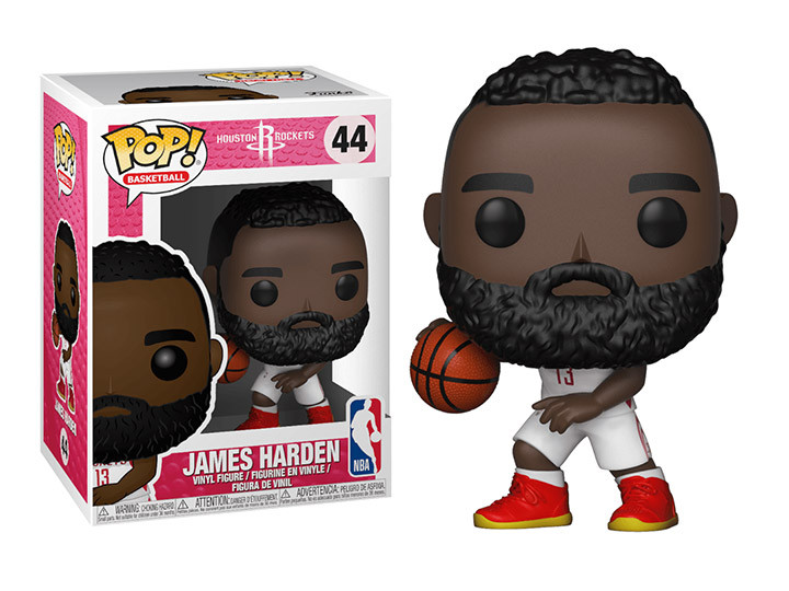 004f4a617e80 ... NBA  Rockets - James Harden Pop! Vinyl Figure. Image 1