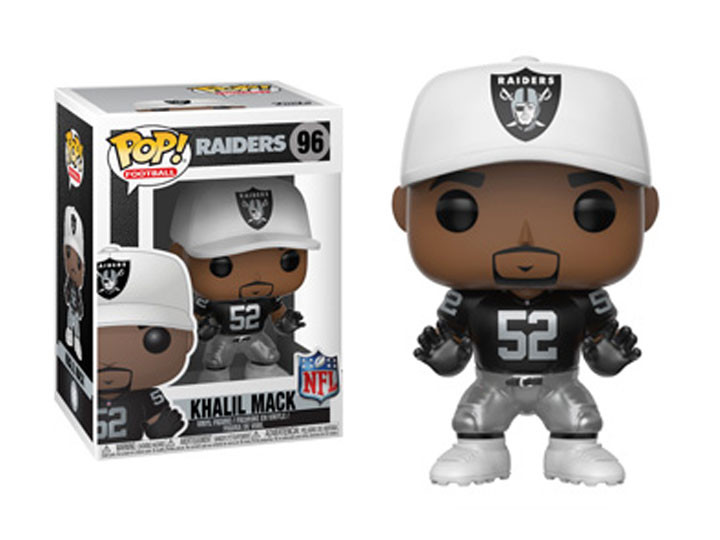 ... NFL Football - Khalil Mack Oakland Raiders Pop! Vinyl Figure. Image 1 0f5afa56b