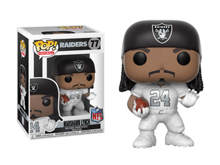 ... NFL Football - Marshawn Lynch Oakland Raiders (Color Rush) Pop! Vinyl  Figure. Image 1 ff4085b76