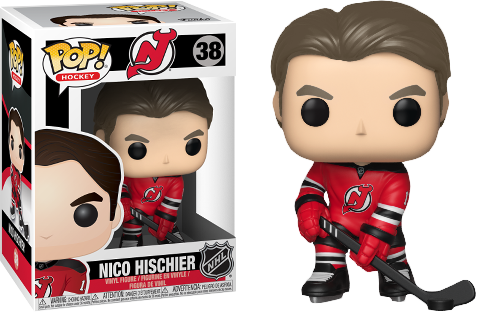 sports shoes 8c75a 96ba7 NHL Hockey - Nico Hischier New Jersey Devils Pop! Vinyl Figure