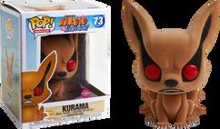 "Naruto - Kurama Flocked 6"" Super Sized Pop! Vinyl Figure"