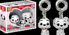 101 Dalmatians - Pongo & Purdy Pocket Pop! Vinyl Keychain 2-Pack