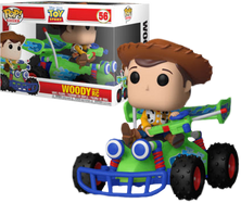 Toy Story - Woody with RC Pop! Rides Vinyl Figure
