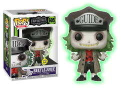 Beetlejuice - Beetlejuice with Guide Hat Glow in the Dark US Exclusive Pop! Vinyl Figure