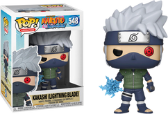 Naruto - Kakashi with Lightning Blade US Exclusive Pop! Vinyl Figure