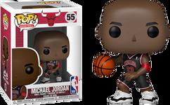 NBA Basketball - Michael Jordan Chicago Bulls Black Uniform US Exclusive Pop! Vinyl Figure