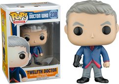 Doctor Who - 12th Doctor with Spoon Pop! Vinyl Figure
