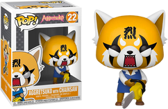 Aggretsuko - Retsuko with Chainsaw Pop! Vinyl Figure