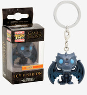 Game of Thrones - Icy Viserion US Exclusive Pocket Pop! Keychain