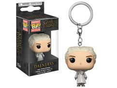 Game of Thrones - Daenerys (White Coat) Pocket Pop! Vinyl Keychain