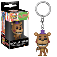 Five Nights At Freddy's - Rockstar Freddy Pocket Pop! Vinyl Keychain
