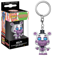 Five Nights At Freddy's - Helpy Pocket Pop! Vinyl Keychain