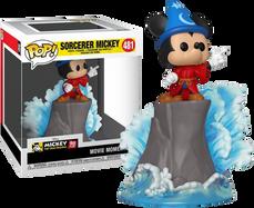 Disney - Fantasia Sorcerer Mickey 90th Anniversary Movie Moments Pop! Vinyl Figure
