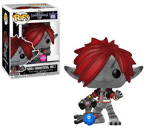 Kingdom Hearts 3 - Sora Monster's Inc. Flocked Pop! Vinyl Figure