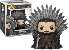 Game of Thrones - Jon Snow on Iron Throne Deluxe Pop! Vinyl Figure