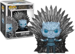Game of Thrones - Night King on Iron Throne Deluxe Pop! Vinyl Figure