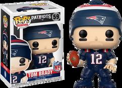 NFL Football - Tom Brady New England Patriots (Color Rush) Pop! Vinyl Figure