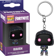 Fortnite - Raven Pocket Pop! Vinyl Keychain
