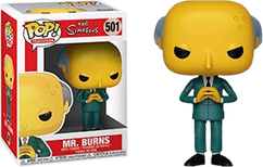 The Simpsons - Mr. Burns Pop! Vinyl Figure