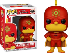The Simpsons - Radioactive Man Pop! Vinyl Figure