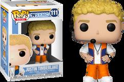 NSYNC - Justin Timberlake Pop! Vinyl Figure