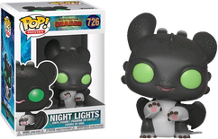 How to Train Your Dragon 3: The Hidden World - Night Lights Black & Green Pop! Vinyl Figure