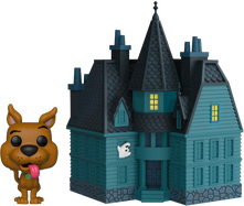 Scooby Doo - Scooby Doo with Haunted Mansion Pop! Town Vinyl Figure