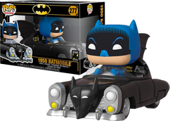 Batman - Batman with 1950 Batmobile 80th Anniversary Pop! Rides Vinyl Figure