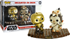 Star Wars - Encounter On Endor Movie Moments Pop! Vinyl Figure 2-Pack