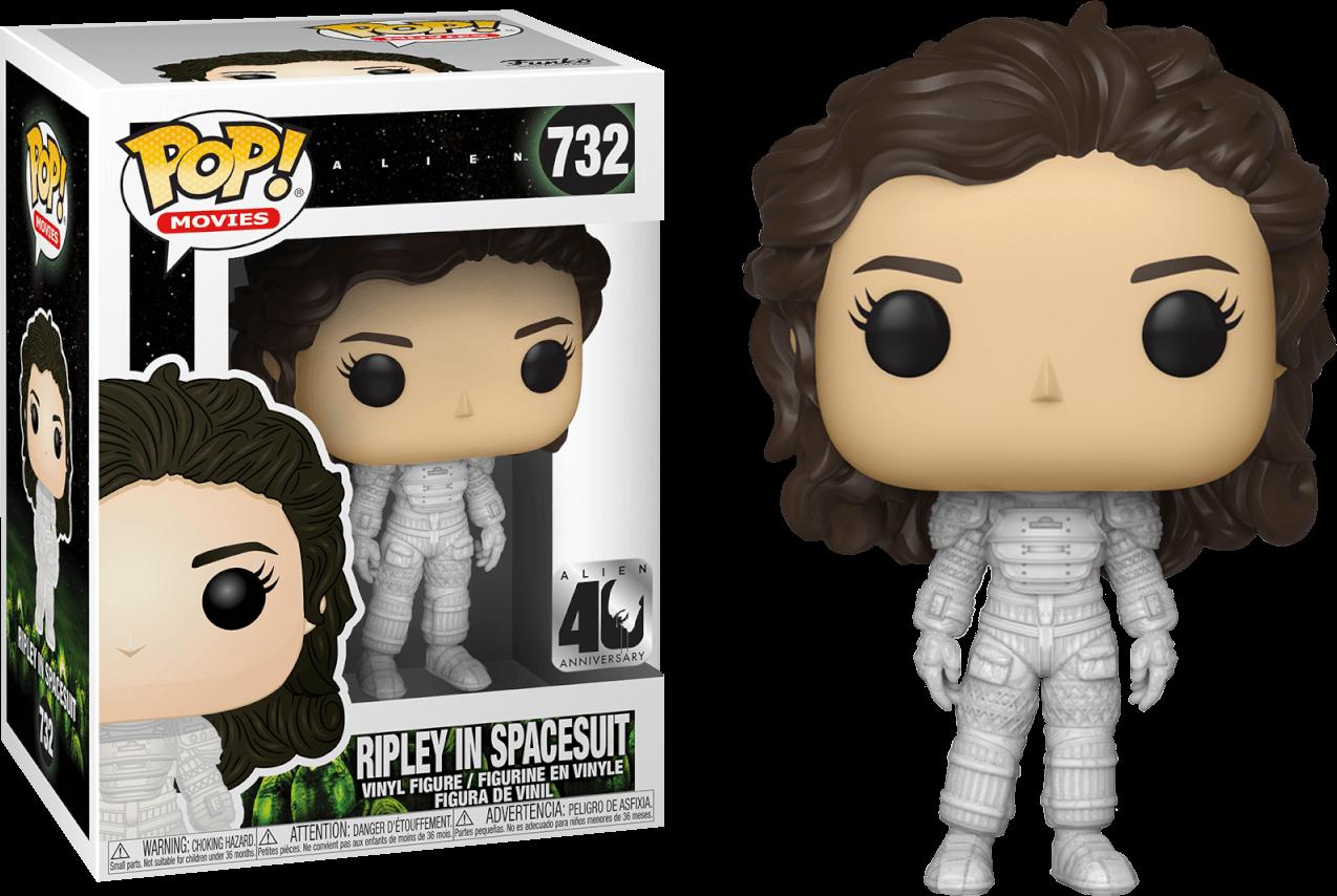 e84f17a19c267 Alien - Ripley in Spacesuit 40th Anniversary Pop! Vinyl Figure