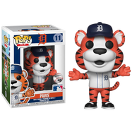 MLB Baseball - Paws Detroit Tigers Mascot Pop! Vinyl Figure