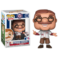 MLB Baseball - Theodore Roosevelt Washington Nationals Mascot Pop! Vinyl Figure