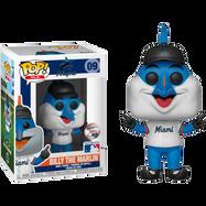 MLB Baseball - Billy the Marlin Miami Marlins Mascot Pop! Vinyl Figure