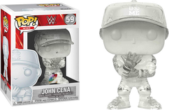 WWE - John Cena Invisible Pop! Vinyl Figure