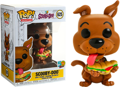 Scooby-Doo - Scooby-Doo with Sandwich Pop! Vinyl Figure