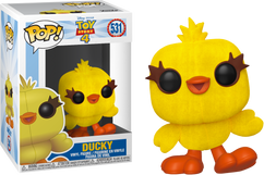Toy Story 4 - Ducky Flocked US Exclusive Pop! Vinyl Figure
