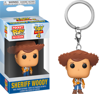 Toy Story 4 - Sheriff Woody Pocket Pop! Vinyl Keychain