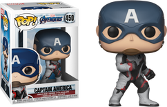 Avengers 4: Endgame - Captain America in Team Suit Pop! Vinyl Figure