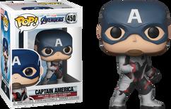 Avengers 4: Endgame - Captain America in Team Suit Pop! Vinyl Figure