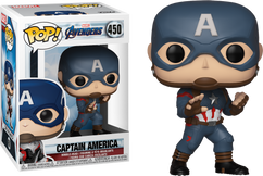 Avengers 4: Endgame - Captain America US Exclusive Pop! Vinyl Figure
